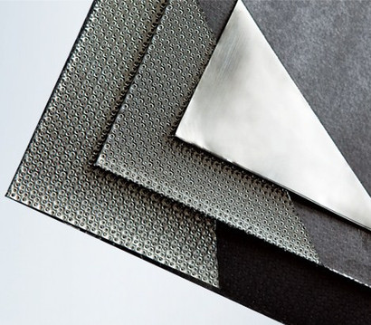 Reinforced Graphite Sheet with Tanged Metal